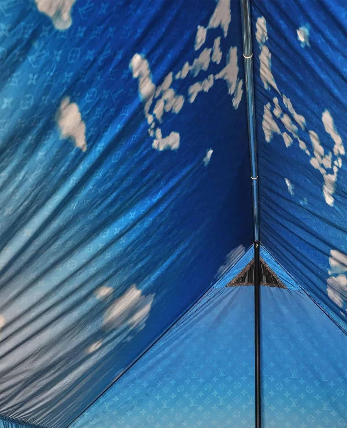 Louis Vuitton camping tent 3