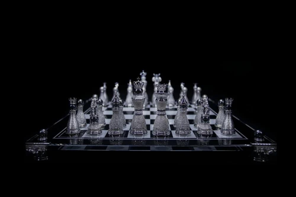 The Pearl Royale is the most expensive chess set in the world