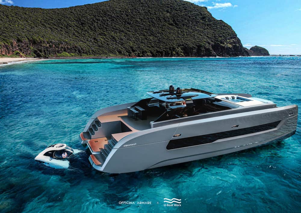 Officina Armare and U-Boat Worx Unveil Aquanaut, the SUV of the Seas