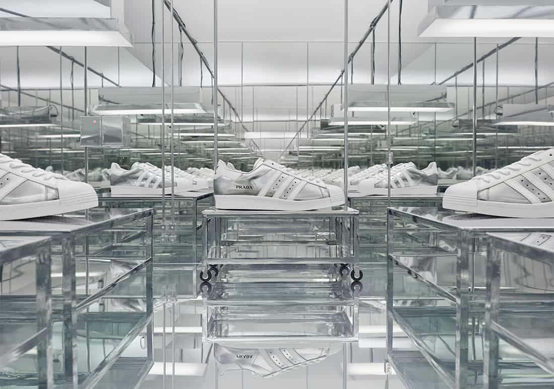 Prada Adidas Superstar 3