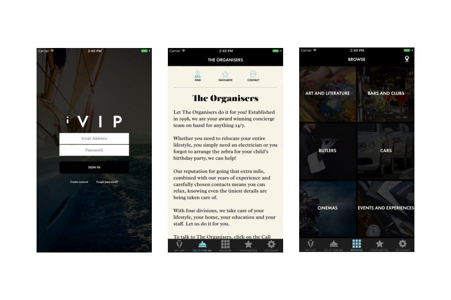 iVIP Black App