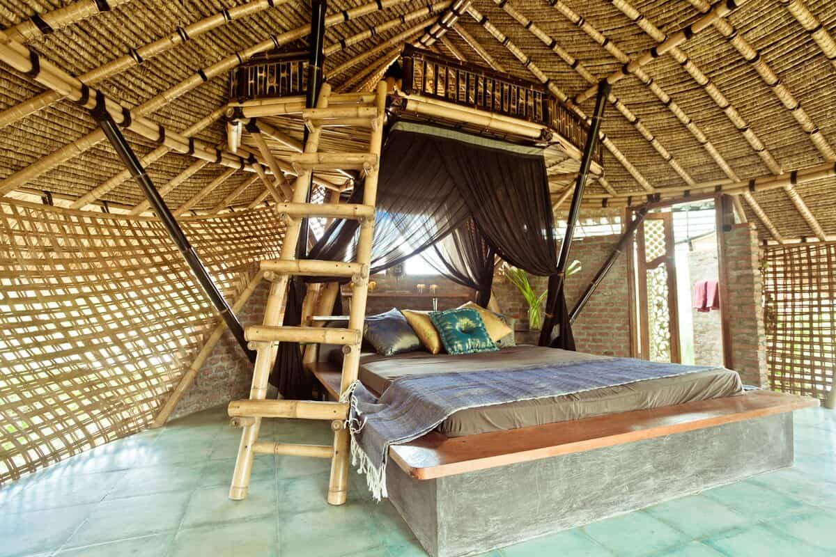 Bamboo Eco-cottage in Rice Fields Ubud 2