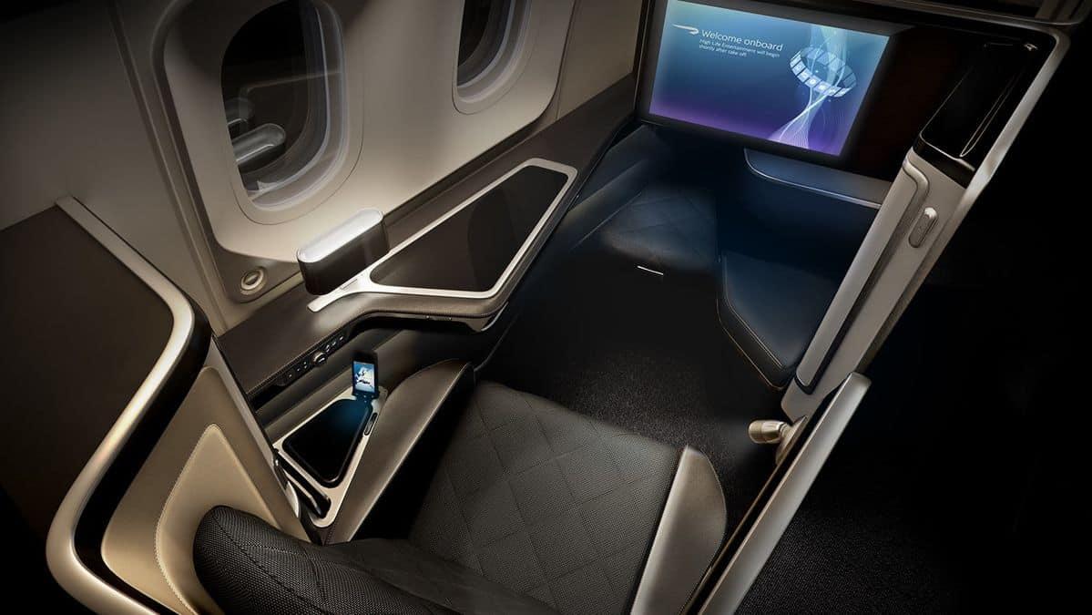 Suite di prima classe British Airways 2