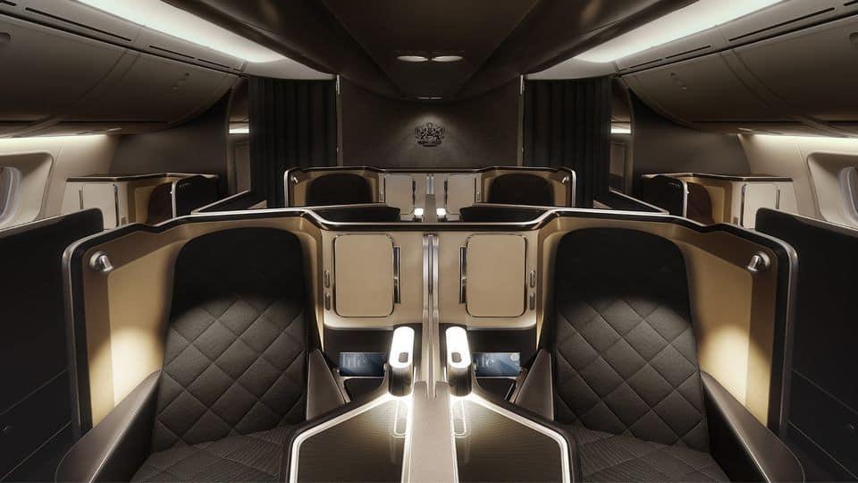 Suite di prima classe British Airways 3