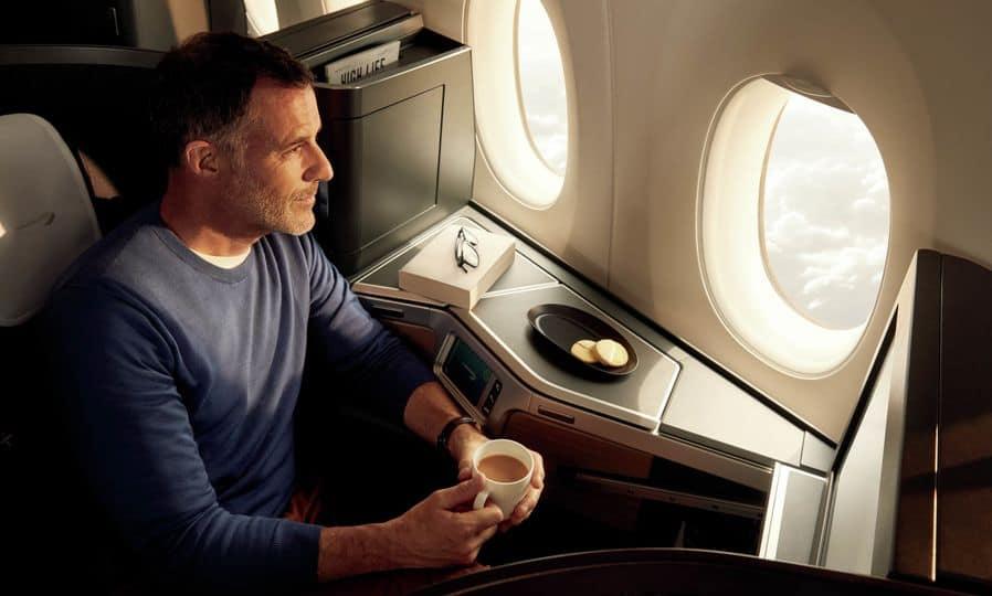 Suite di prima classe British Airways 4
