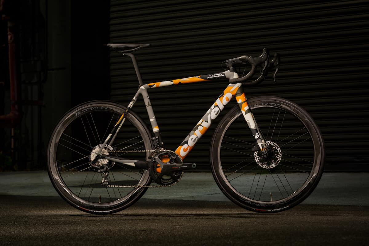 Introducing the Cervélo R5 Automobili Lamborghini Edition Street Bike