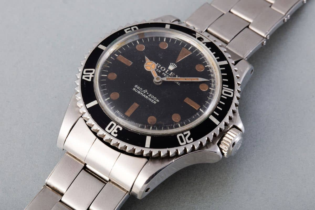 James Bond's 1972 Rolex Submariner