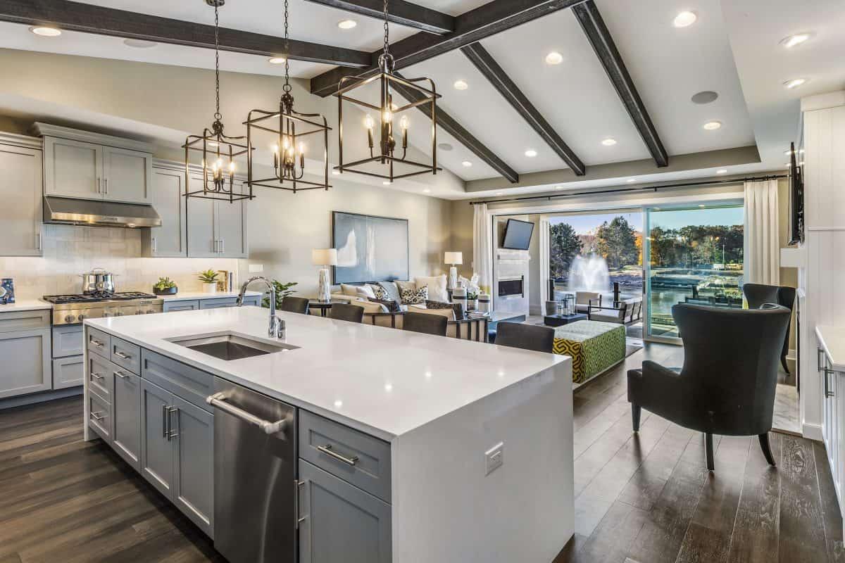 Keep kitchen countertops organized