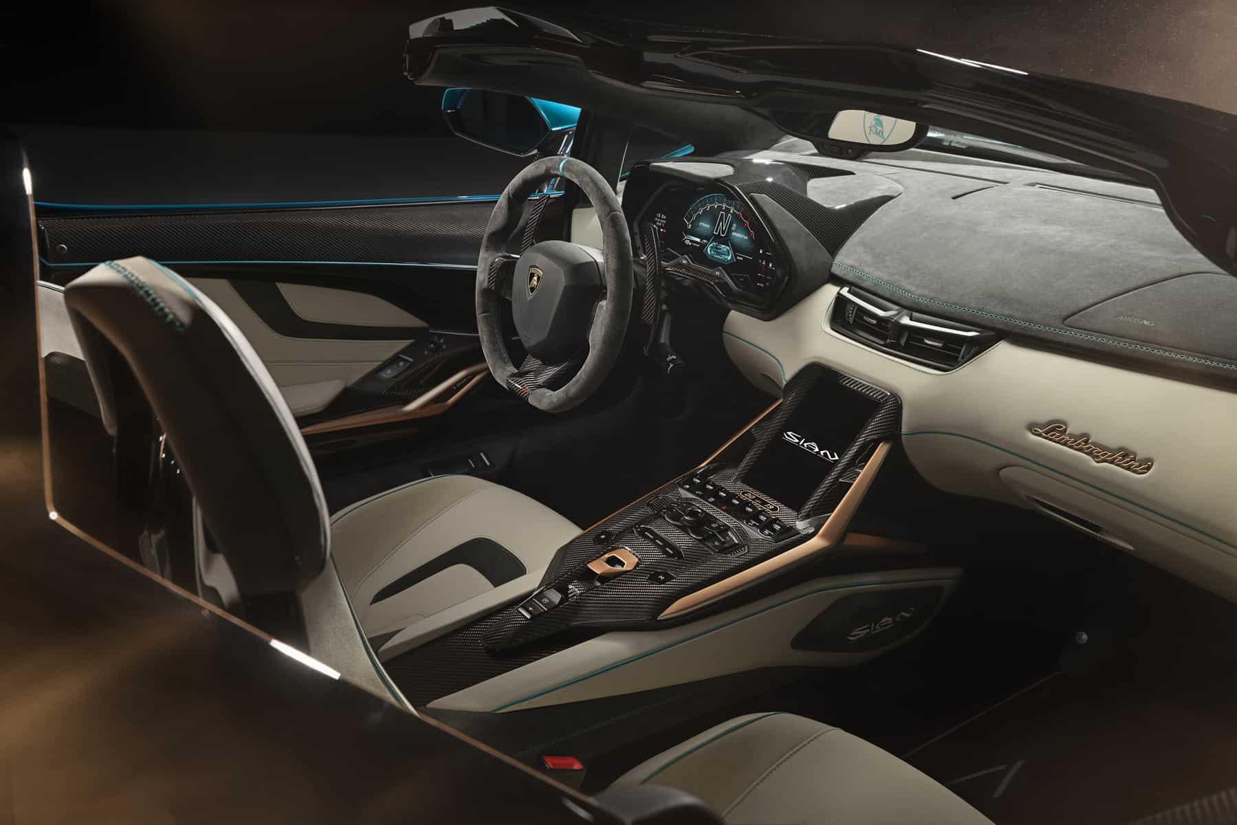 Lamborghini Sián Roadster 17