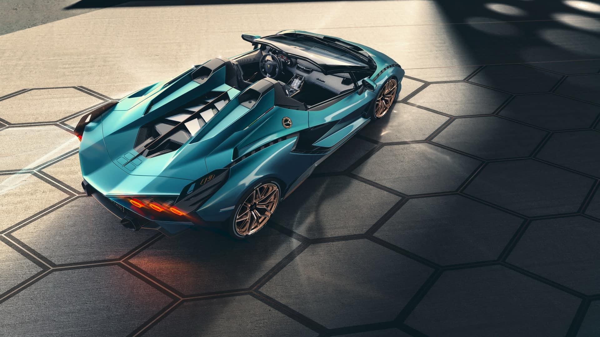 Lamborghini Sián Roadster 3