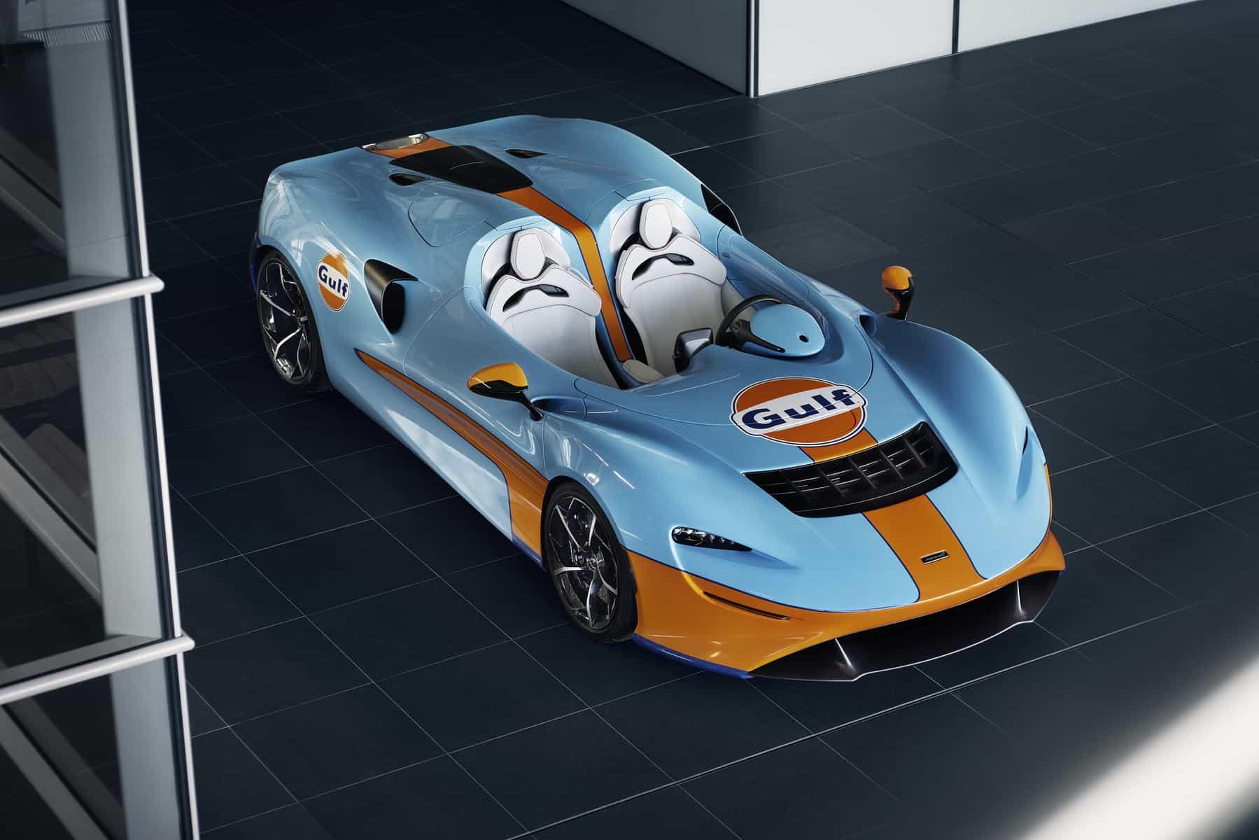 McLaren Elva Gulf Theme by MSO 1