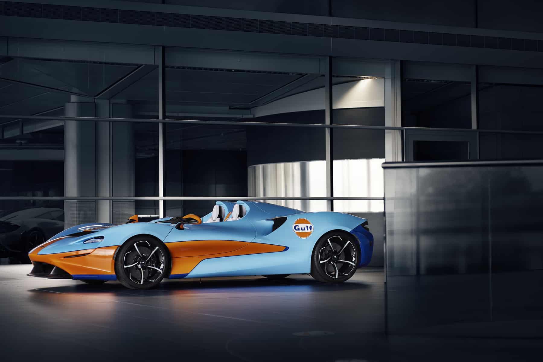 McLaren Elva Gulf Theme by MSO 4