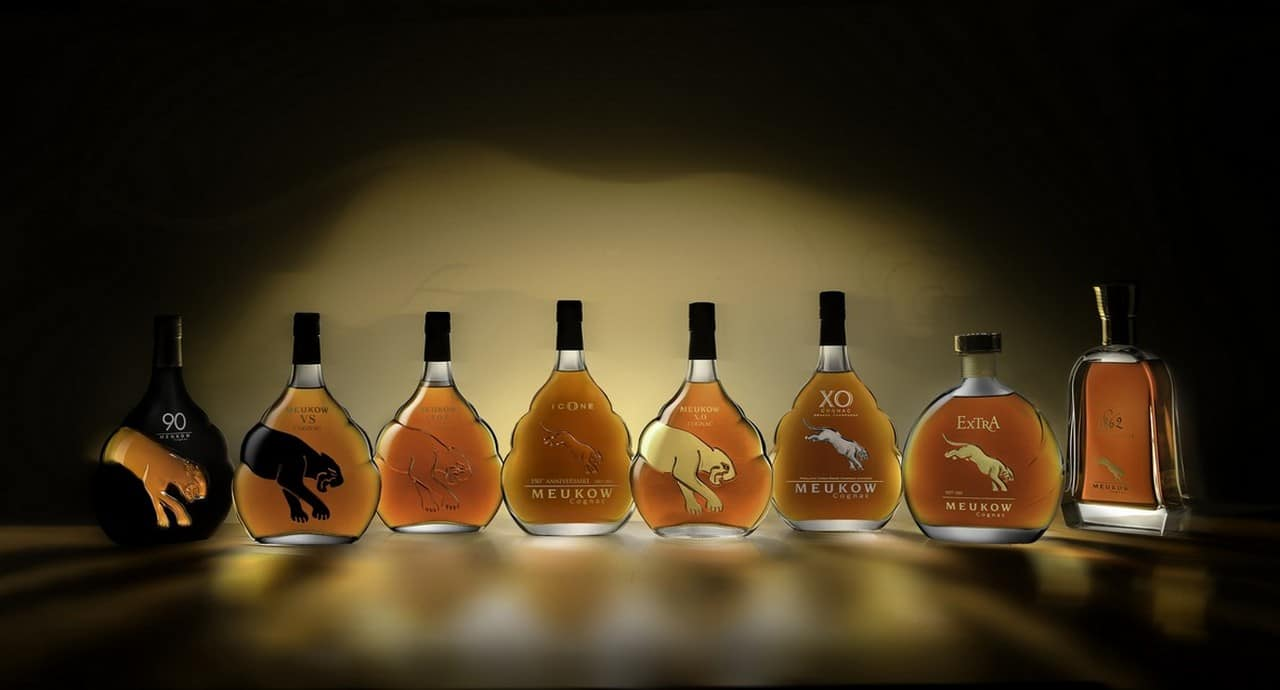 Meukow launch cognac