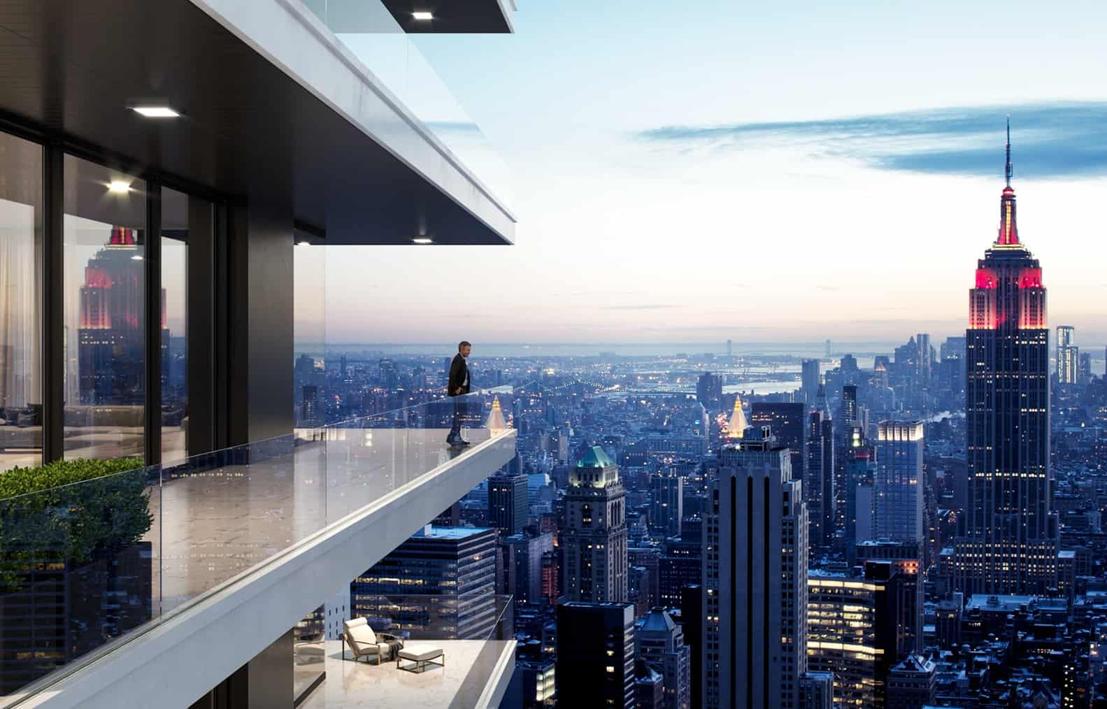 NYC Penthouse View