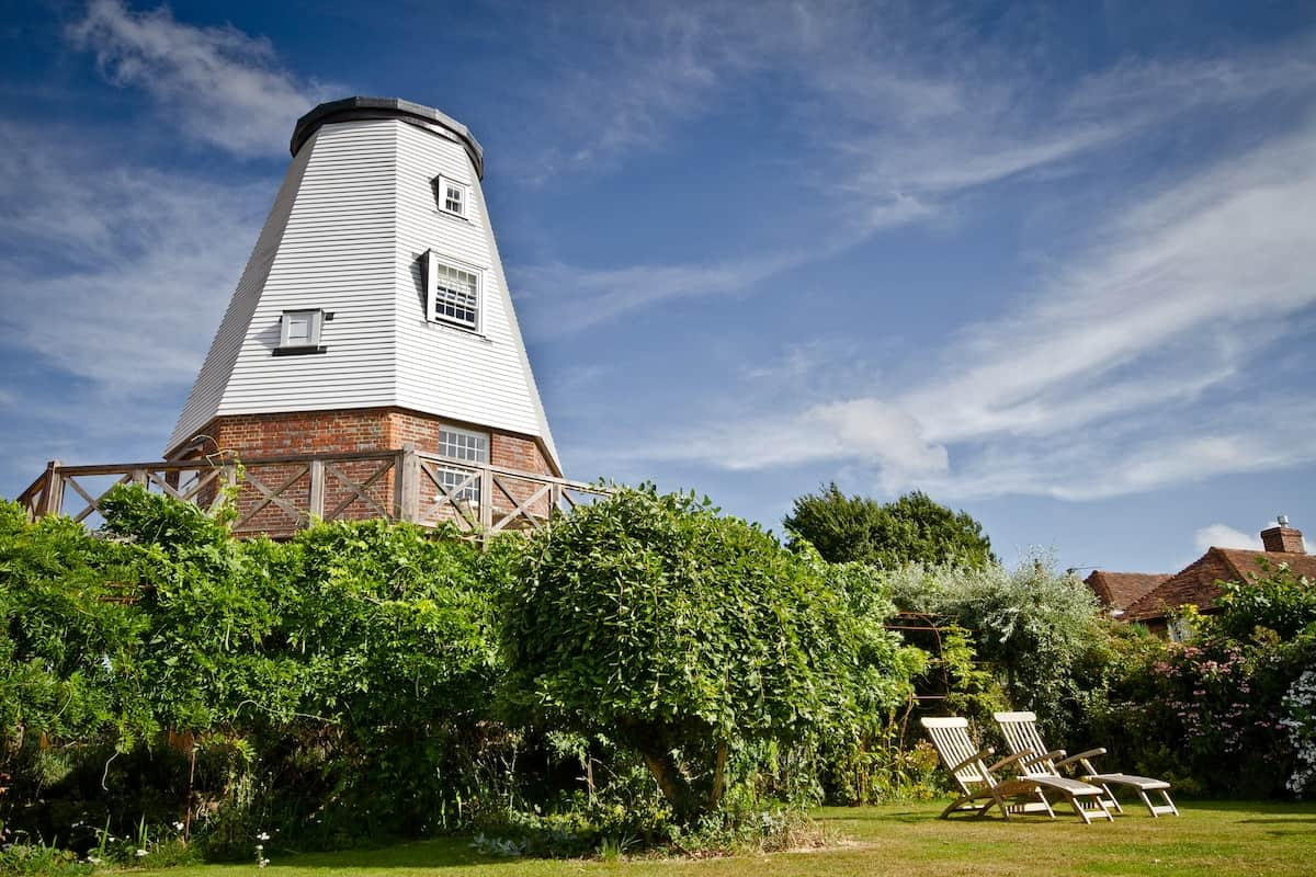Old Smock Windmill in Rural Kent 1
