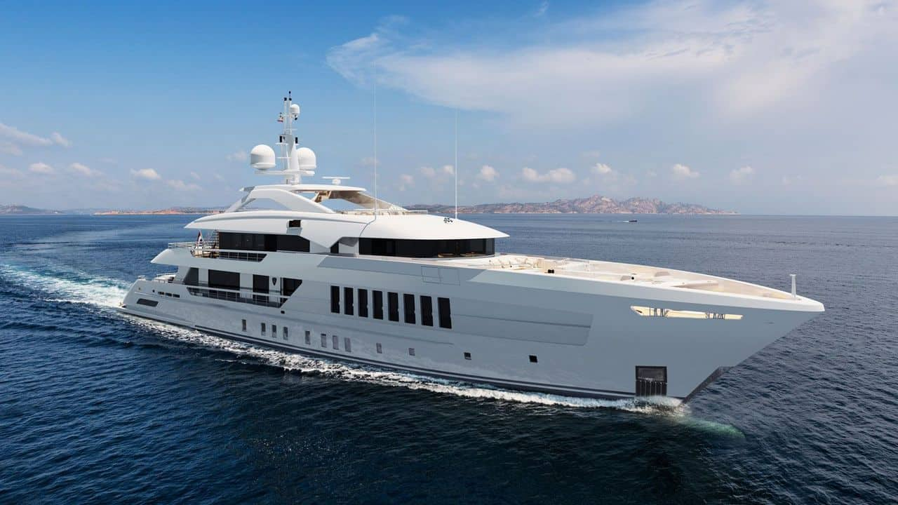 Project Pollux yacht