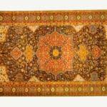Rothschild Tabriz médaillon carpet