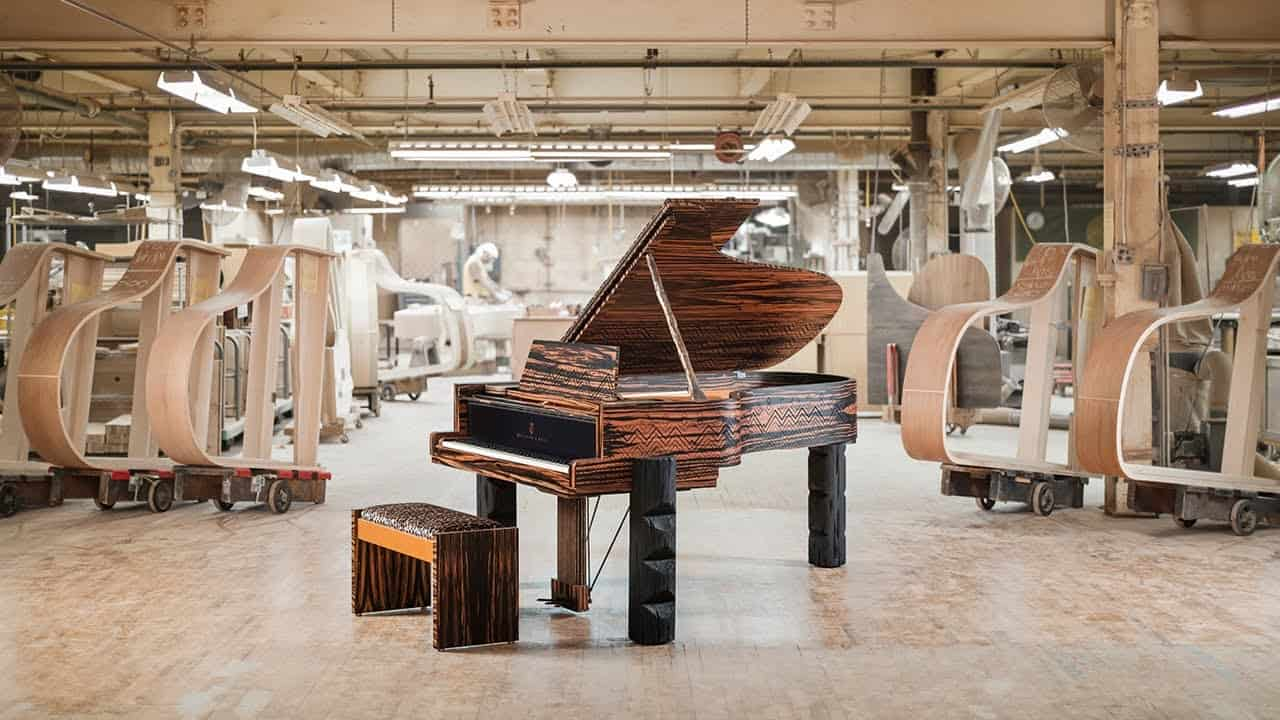 Steinway and Lenny Kravitz Team up For a $500,000 Grand Piano