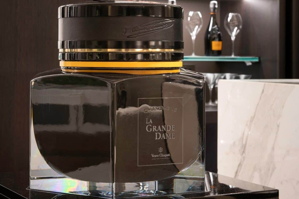 Veuve Clicquot Champagne Bucket by Baccarat 3
