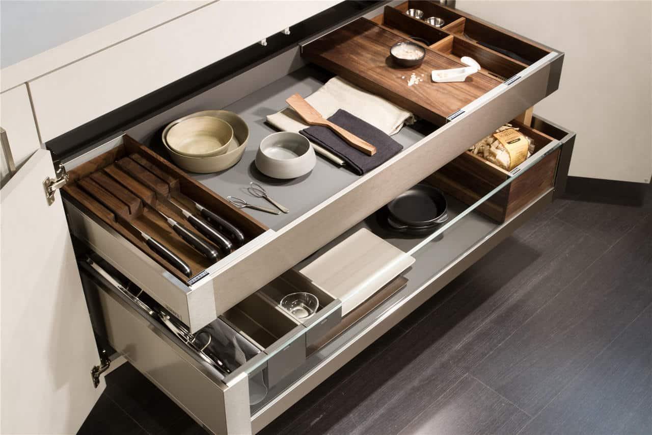 luxury kitchen drawers