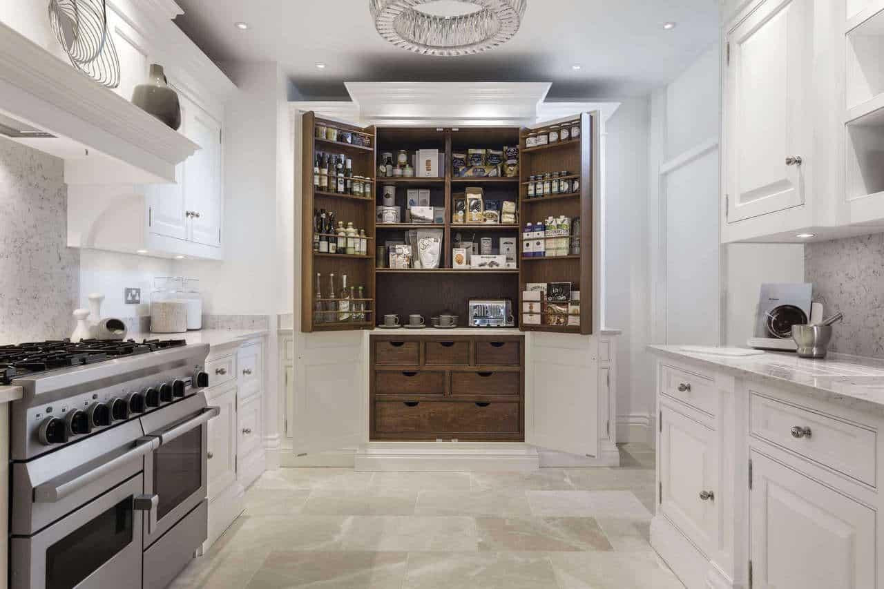 luxury kitchen pantry