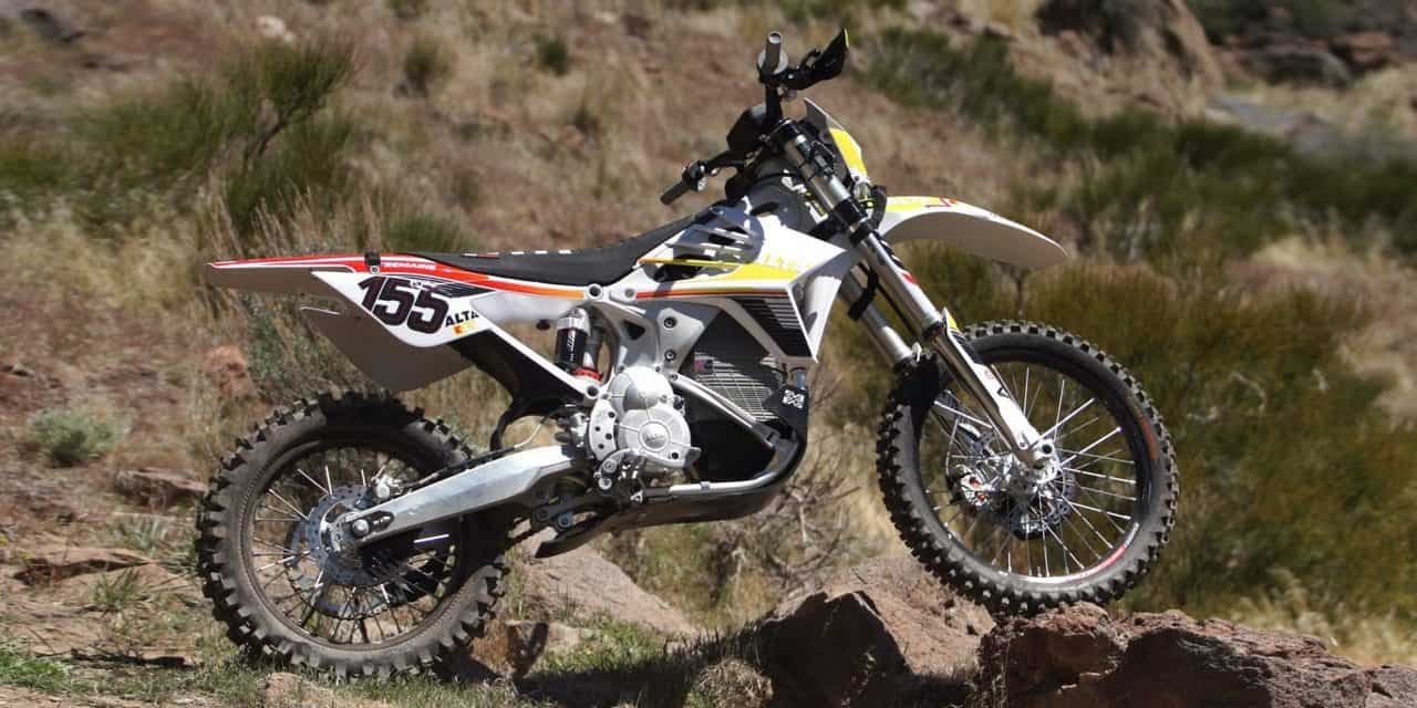 Alta Motors Redshift MX Electric Dirt Bike