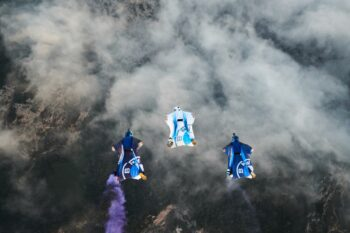BMW electrified wingsuit 1