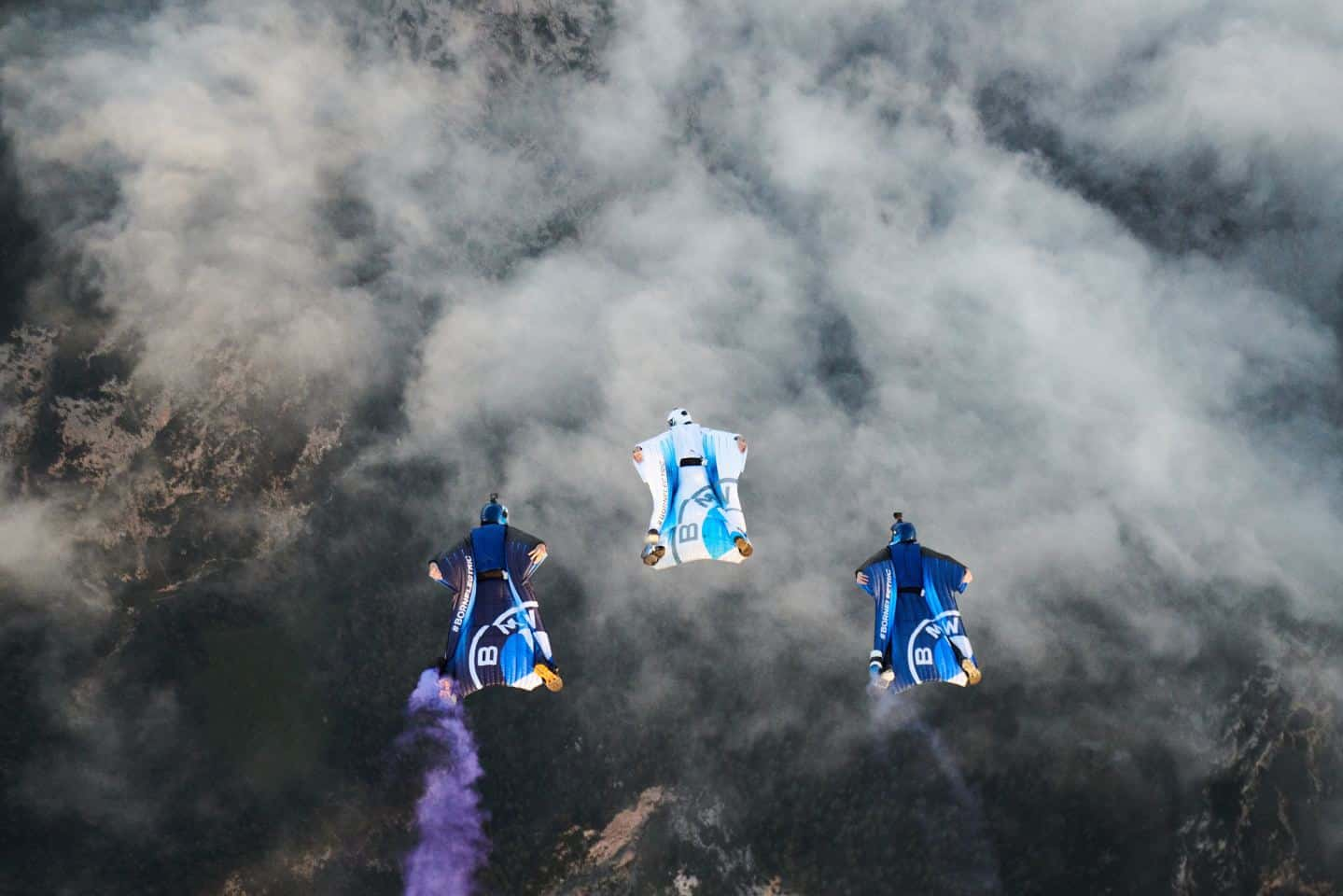 BMW electrified wingsuit 1