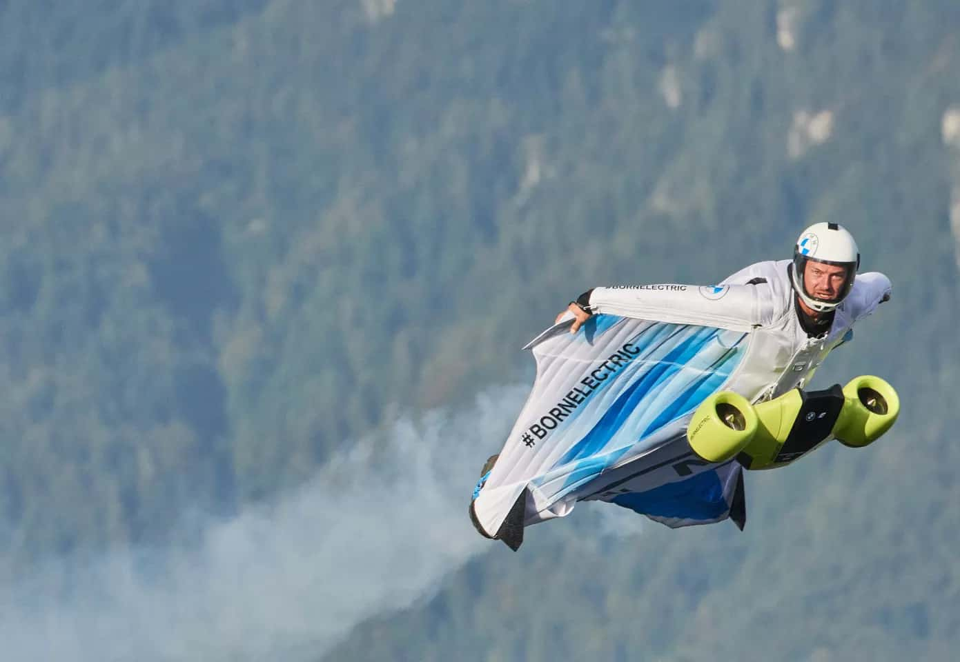 BMW electrified wingsuit 2