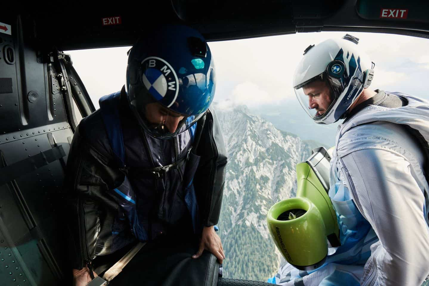 BMW electrified wingsuit 5