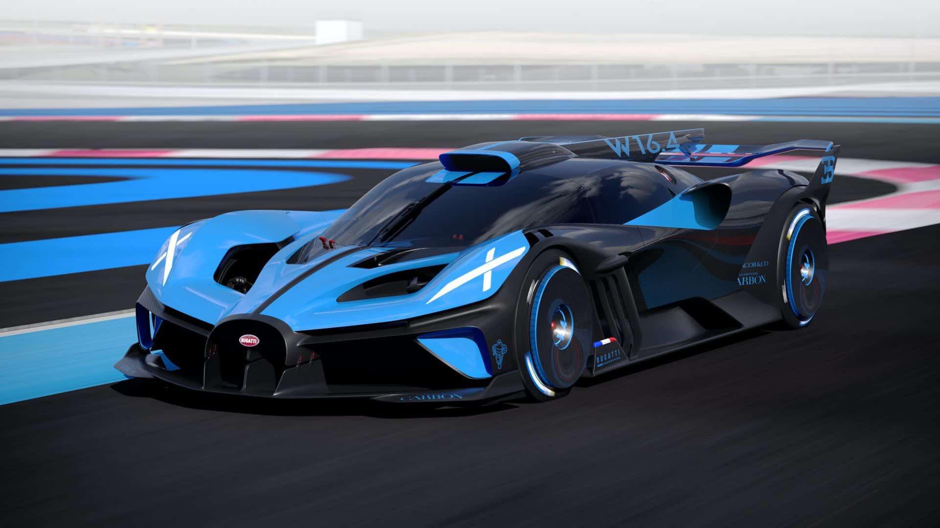 Bugatti Bolide 8