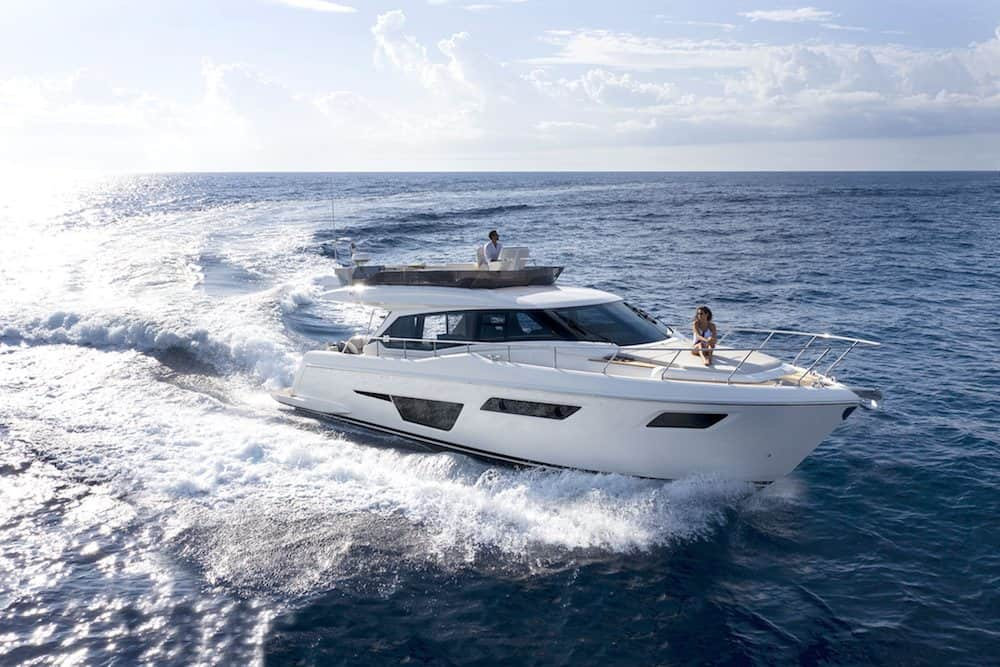 The new Ferretti Yachts 500 Takes Comfort to a New Level