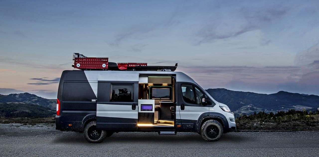Fiat Ducato Camper Van 1