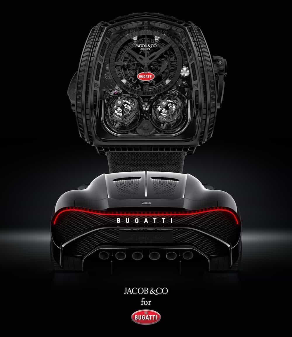 Jacob & Co. Twin Turbo Furious Bugatti La Montre Noire 4