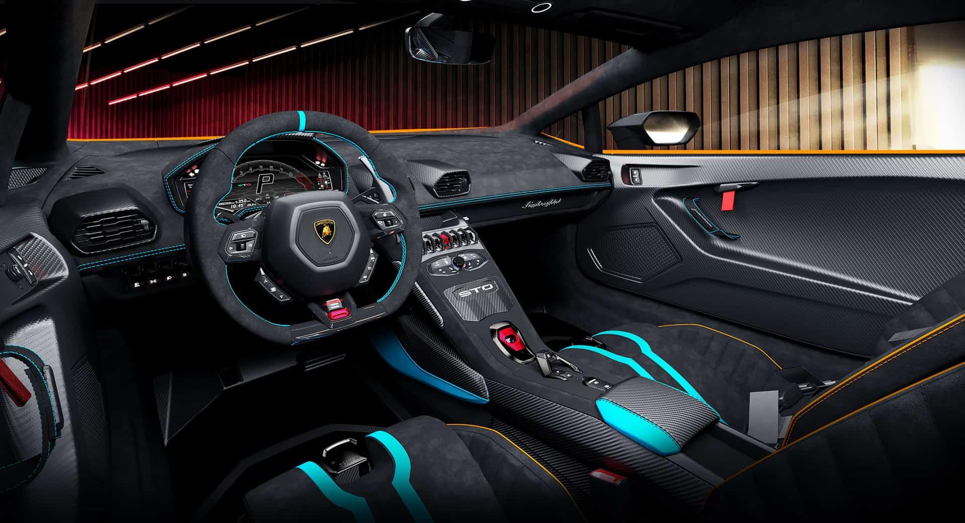 Lamborghini Huracan STO 10