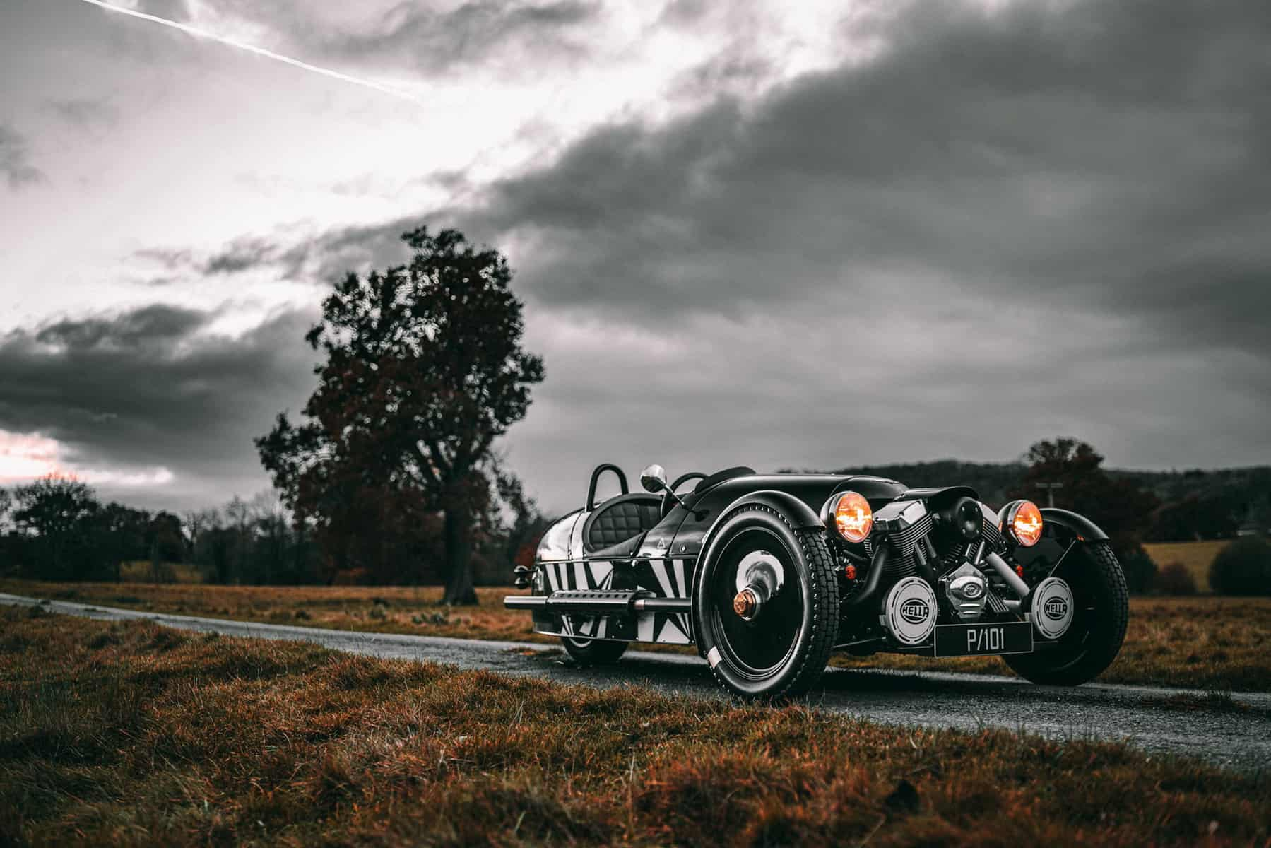The Last In Line: Morgan 3 Wheeler P101 Limited Edition