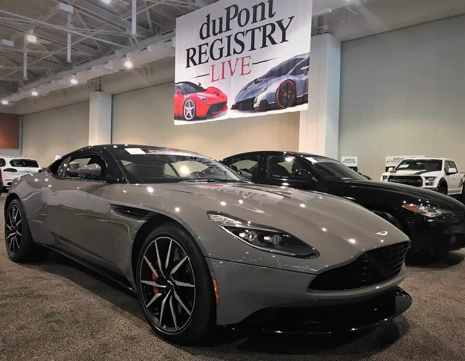 Nashville International Auto Show Aston Martin