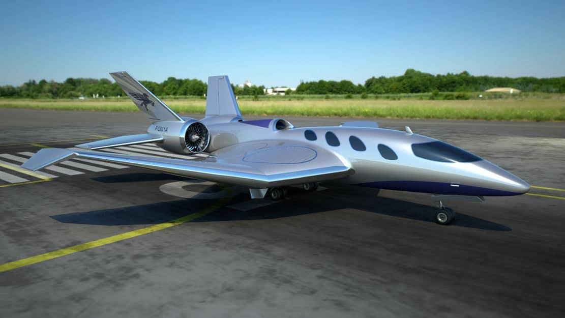 Pegasus Vertical Business Jet 13