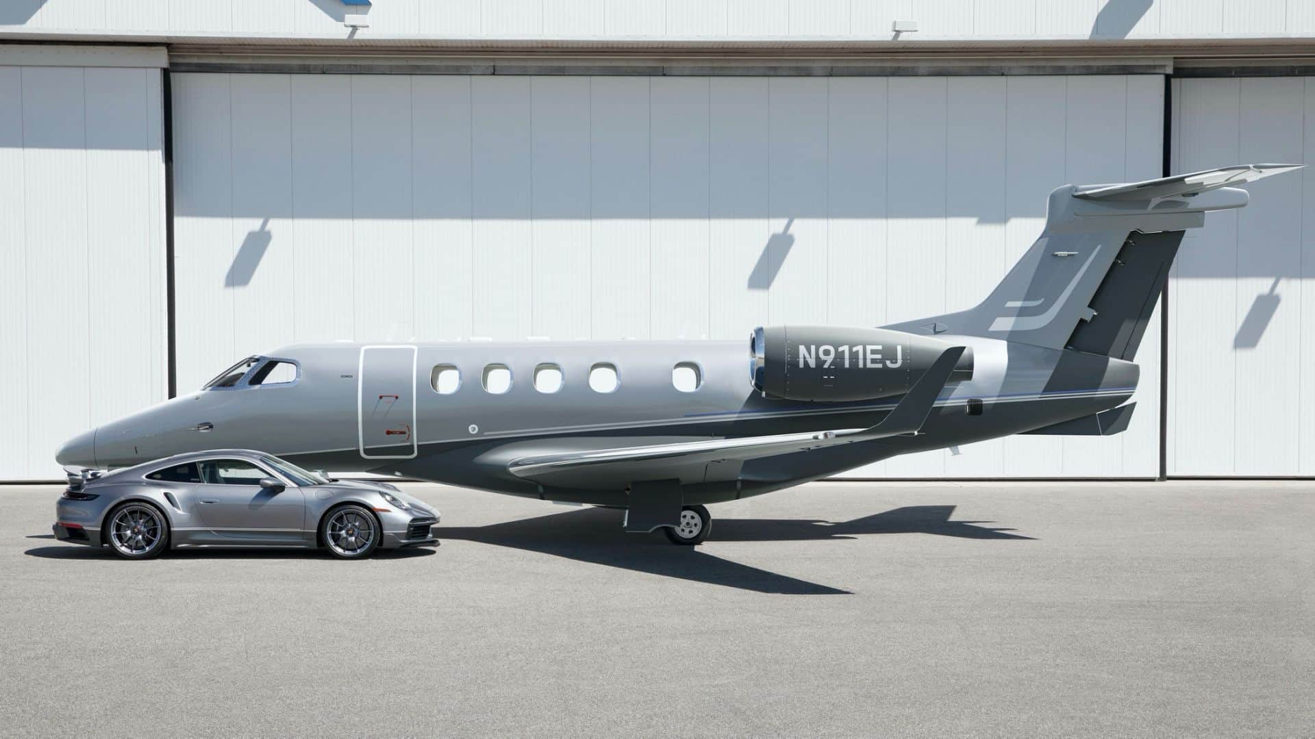 Embraer Private Jet Owners Could Get A Matching Porsche 911 Turbo S