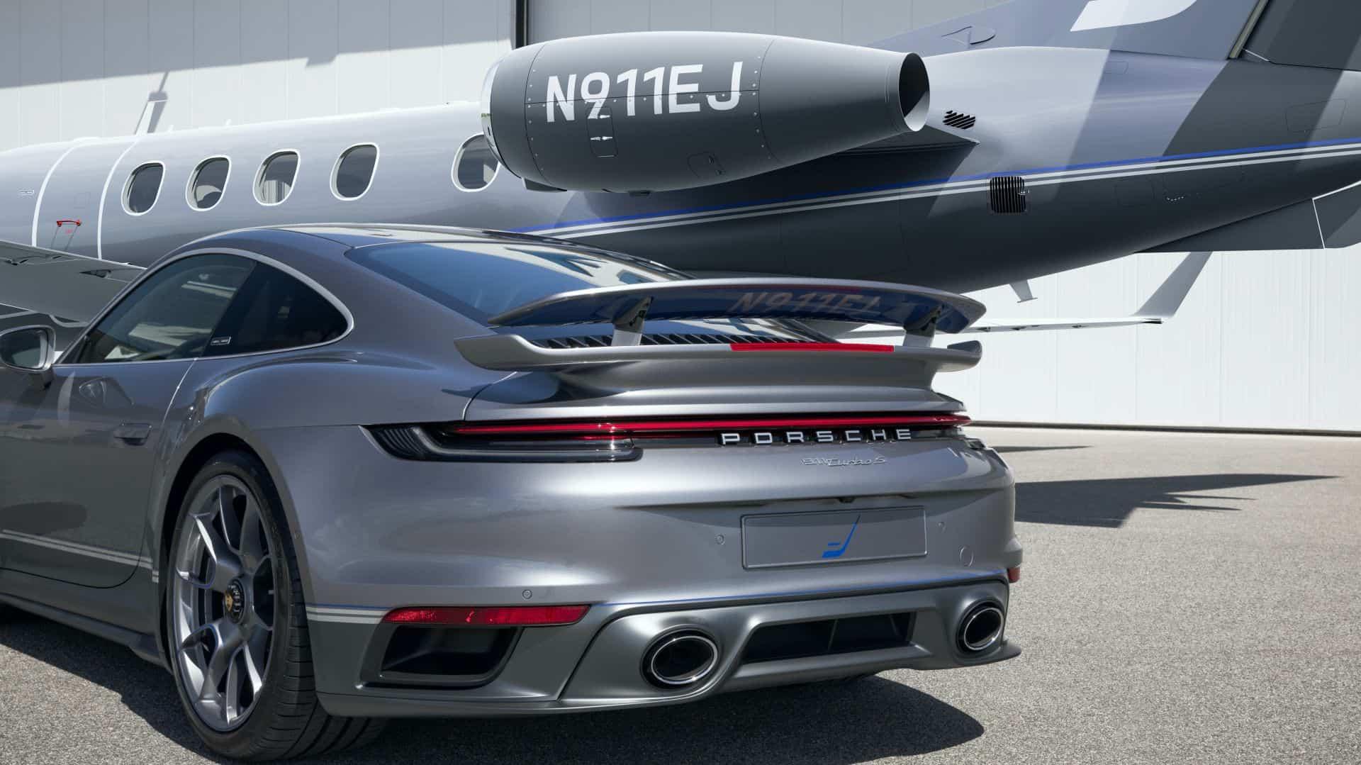 Porsche Embraer Duet 3