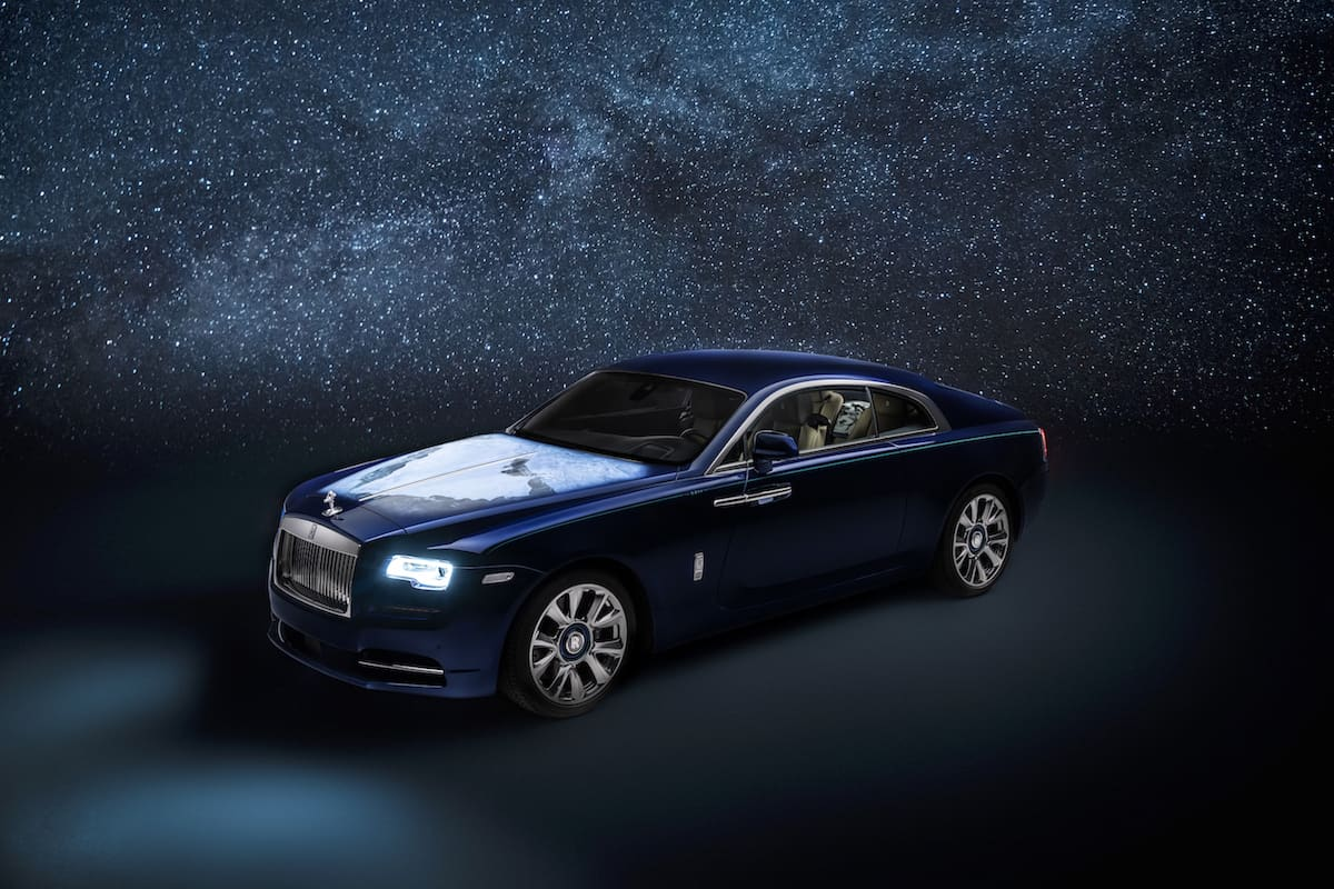 Mother Earth Inspired This Bespoke Rolls-Royce Wraith