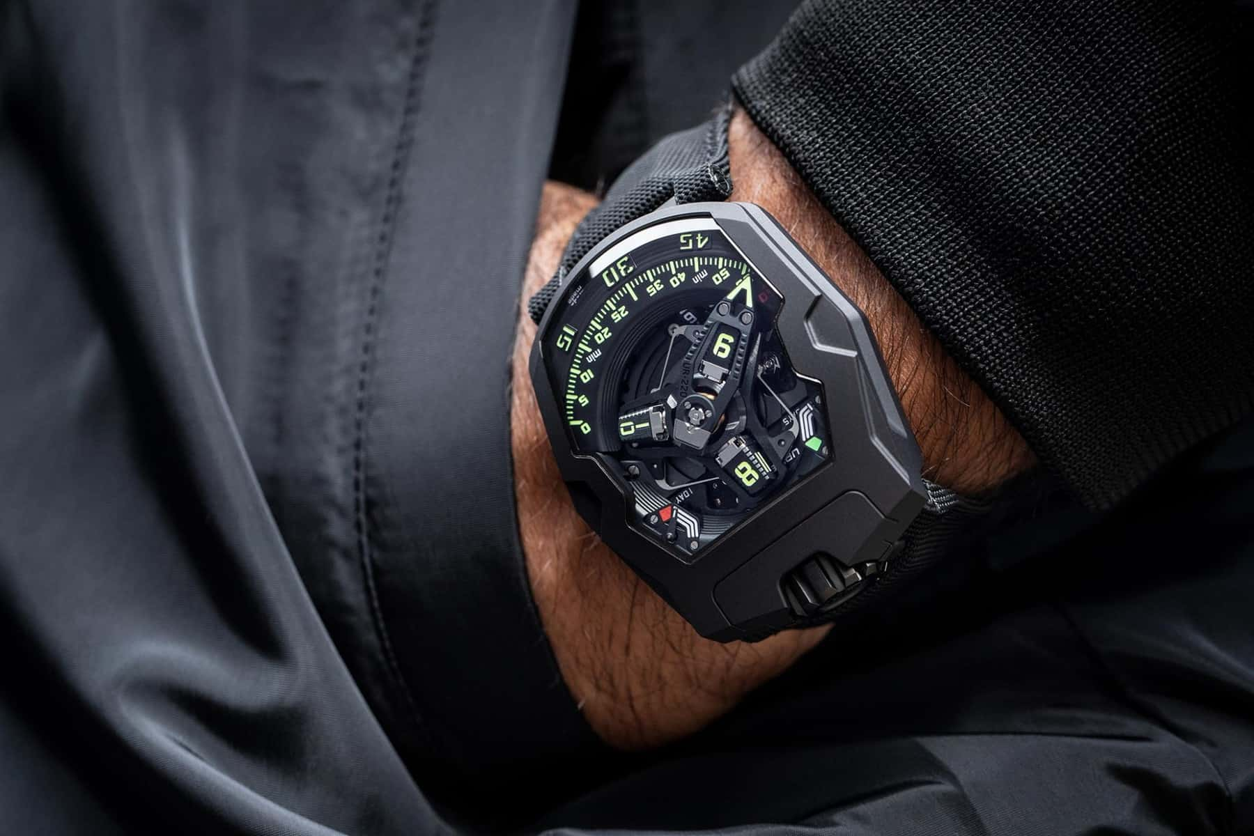 The Stunning URWERK UR-220 All Black Arrives Just In Time