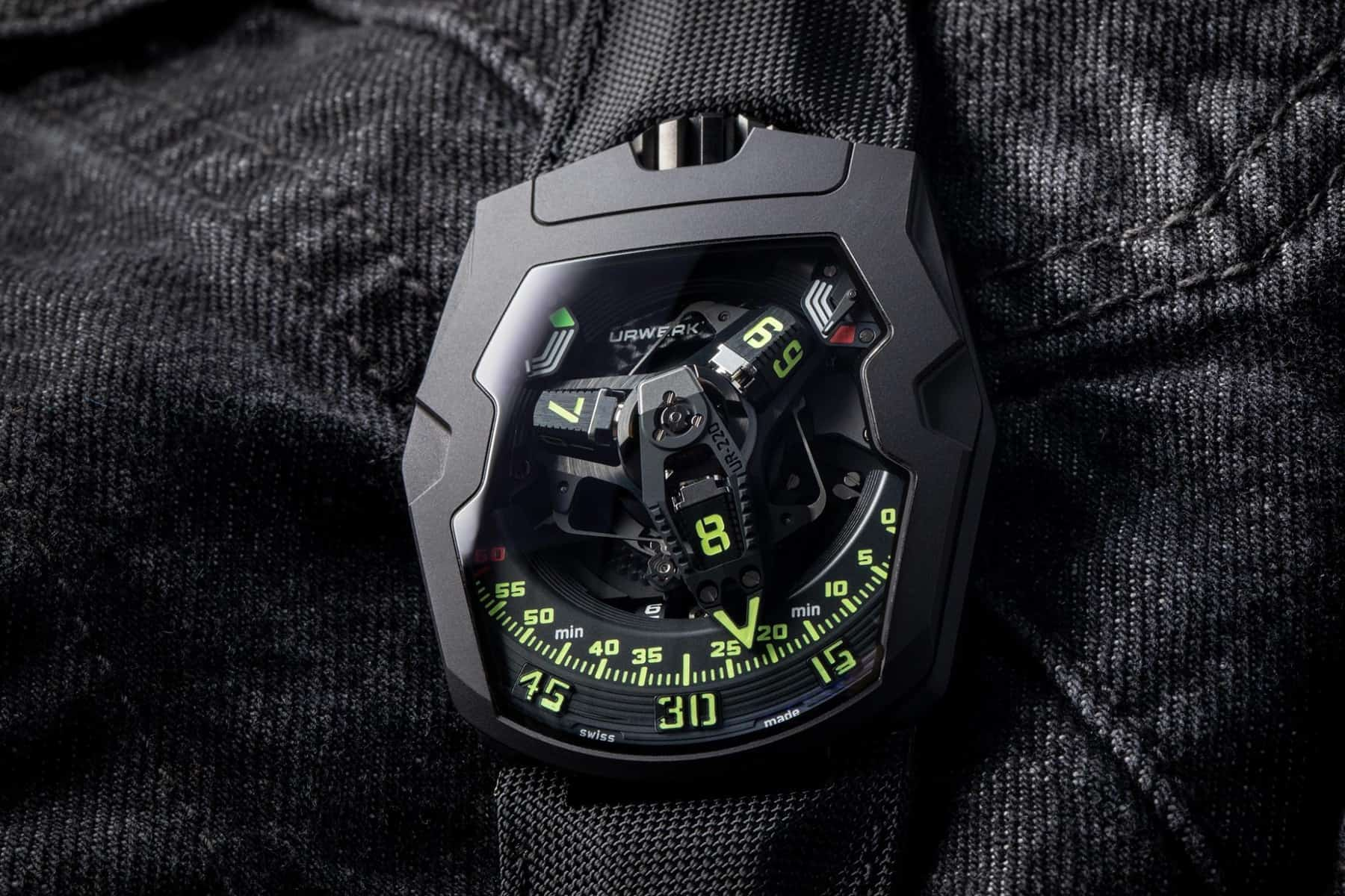 URWERK UR-220 All Black 2