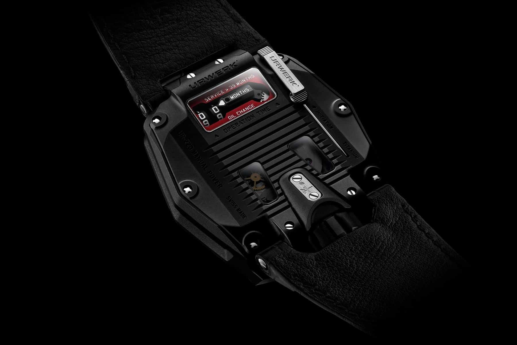 URWERK UR-220 All Black 3