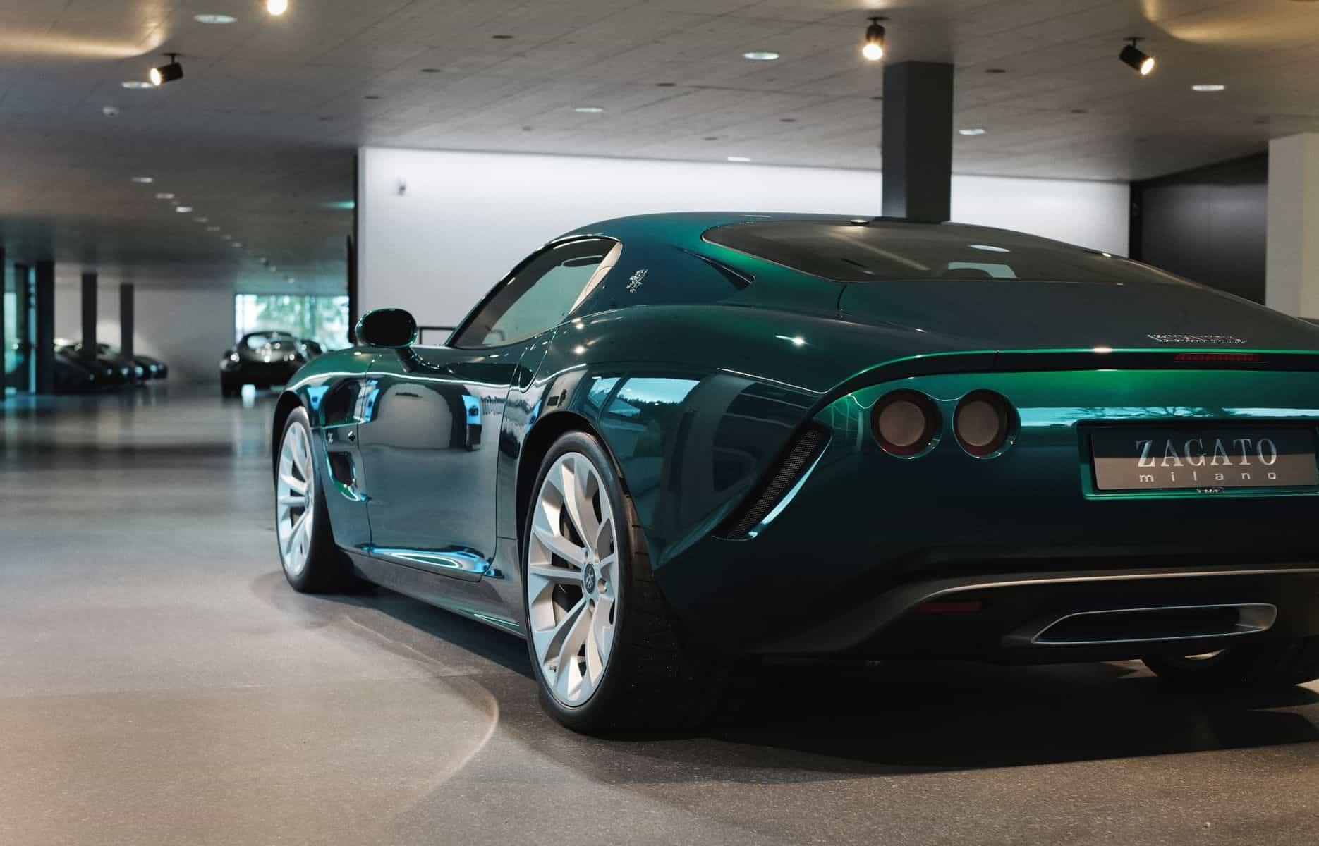 Zagato's First Iso Rivolta GTZ 7