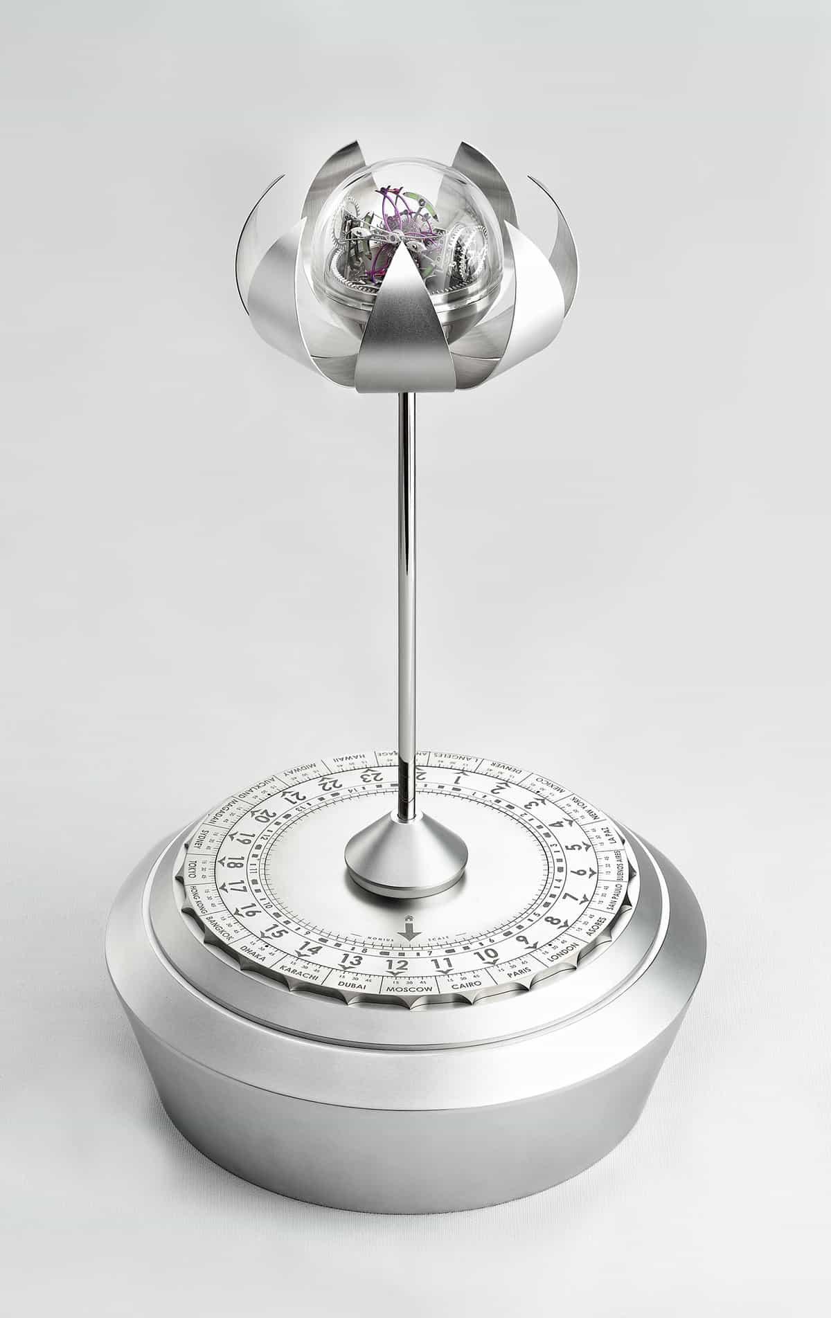 Anton Suhanov Lotus clock 2