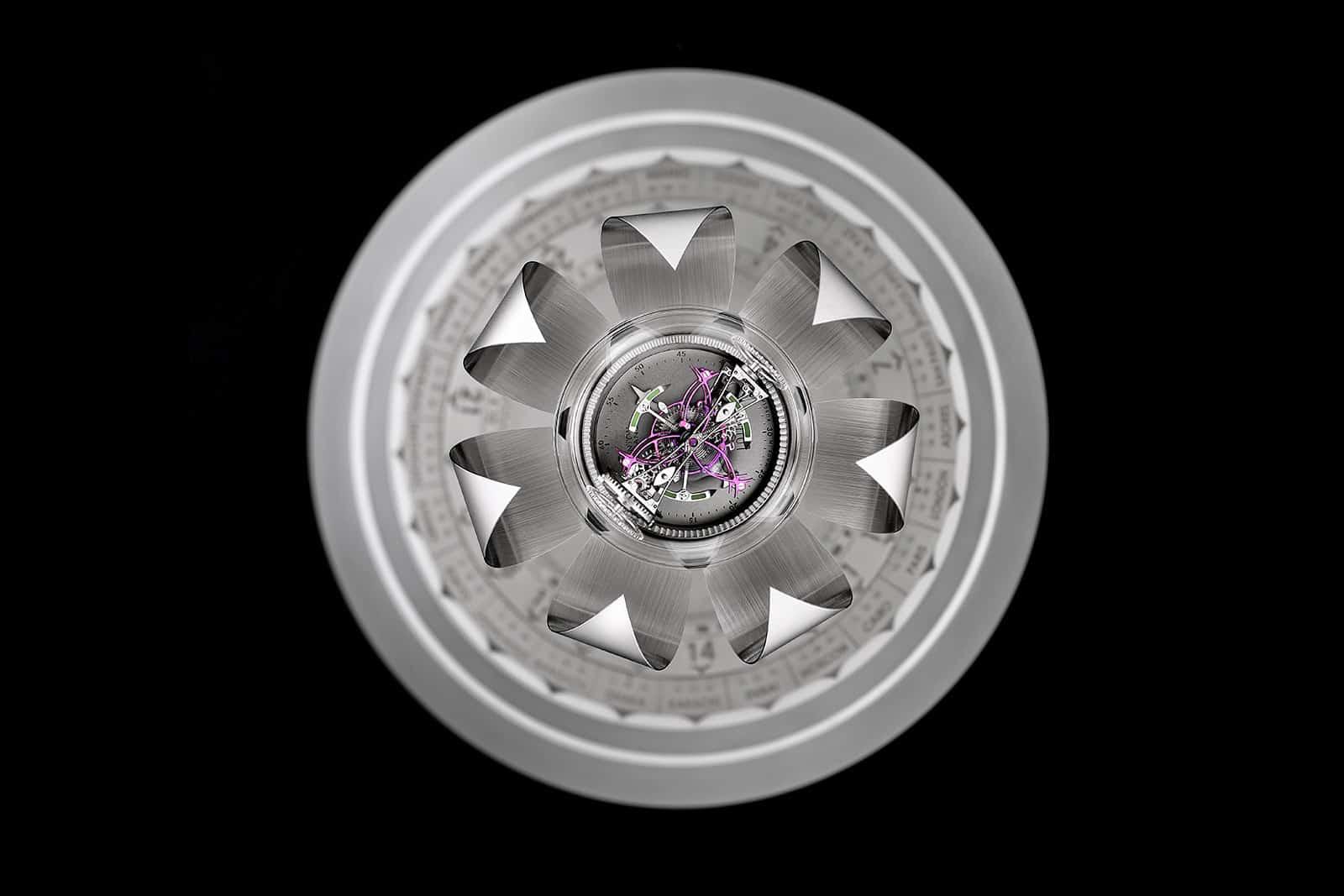 Anton Suhanov Lotus clock 3