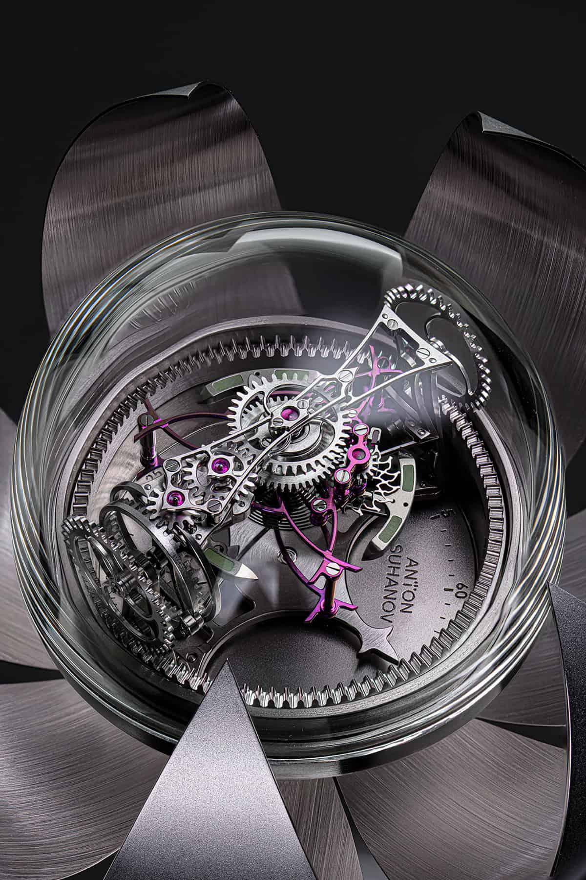 Anton Suhanov Lotus clock 6