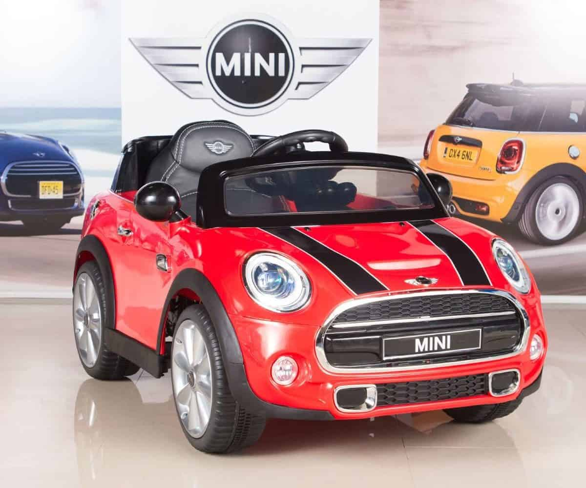 Big Toys Direct Mini Cooper Kids Electric Ride-On Car