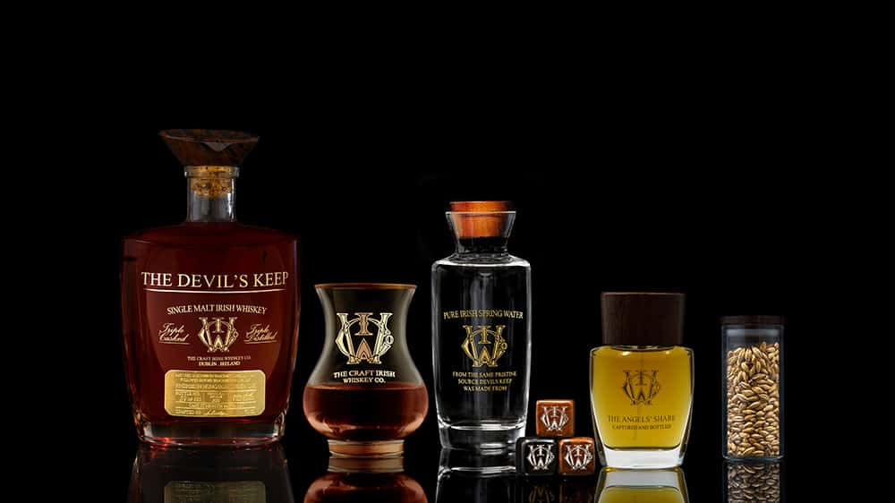 Craft Irish Whiskey Co The Devil's Keep 3